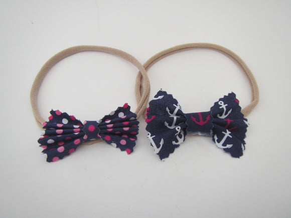 Two Bow Headbands