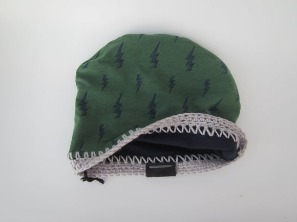 Reversible Baby Toque (12-24 Months)