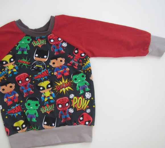 Super Hero Sweater