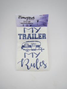 Vehicle  Decal - My Trailer My Rules
