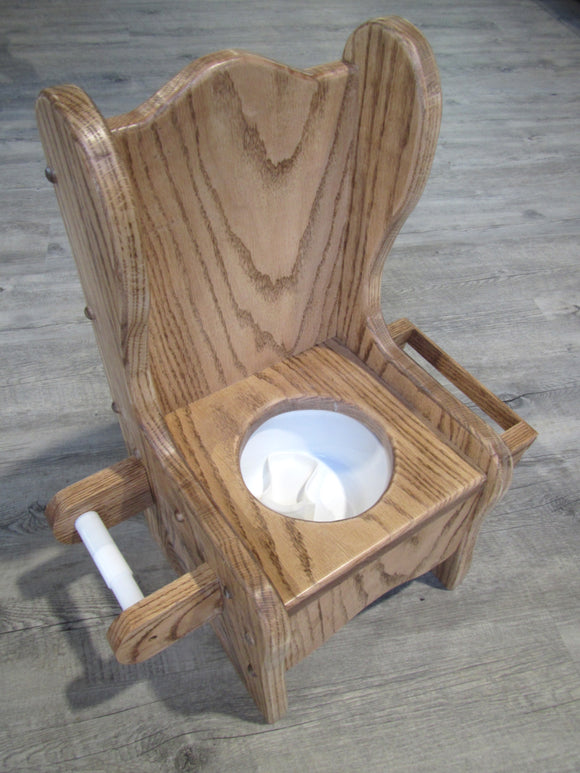 Wooden Potty