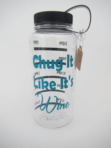 Water Bottle - Chug It