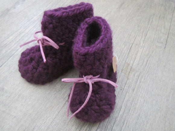 Purple Tie Botties
