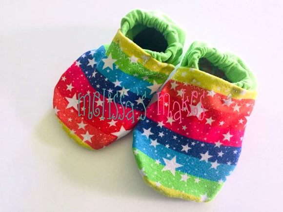 Rainbow & Stars Shoes