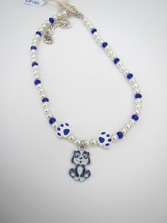 Blue Dog Necklace #2