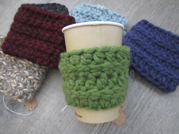 Coffee Coozie - Crocheted