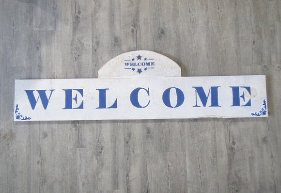Welcome Sign Horizontal