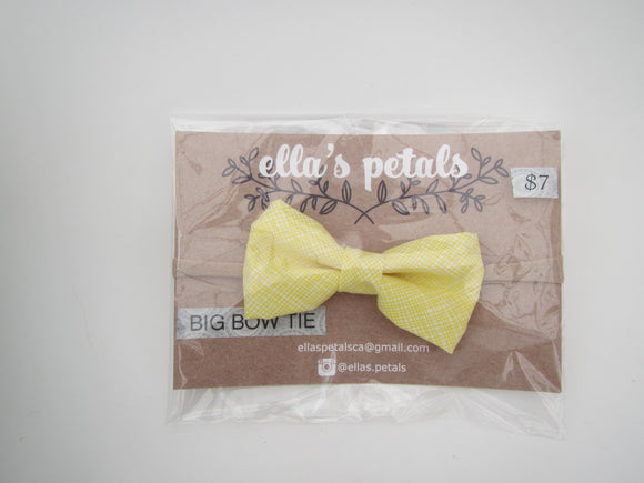 Lil' Bow Tie - Yellow