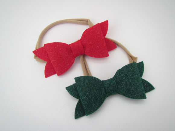 Holiday Bow Headband