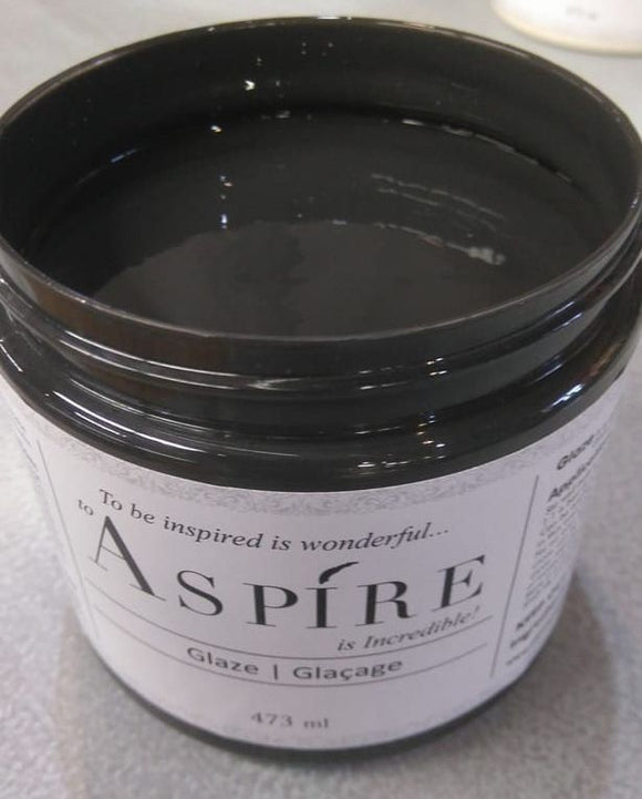 Aspire Glaze - Black