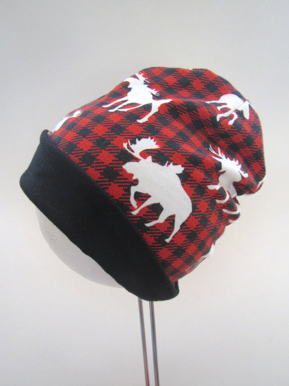 2T Buffalo Plaid Beanie
