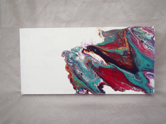 Red/Teal/Purple Acrylic Canvas
