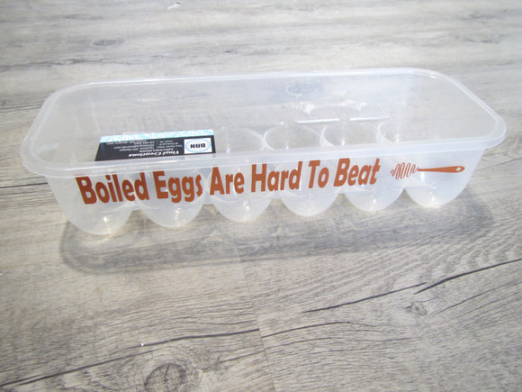 Boiled Egg Are Hard To Beat Egg Carton