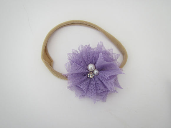 Tulle Flower Band