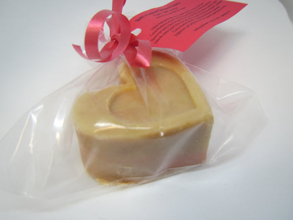 Apple Cider Soap Heart