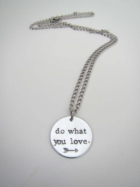 Do What You Love Necklace