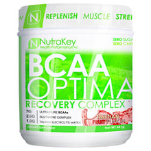 NutraKey BCAA Optima Blue Raspberry 30 Servings - 5 Flavors