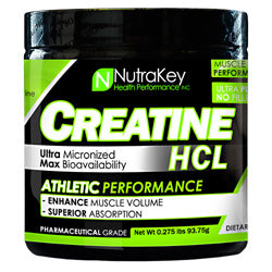 NutraKey Creatine HCL 125 Servings