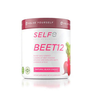 SELFe BEET12 - ORGANIC BEET POWDER + B-12 - 30SRV. 1-MONTH SUPPLY