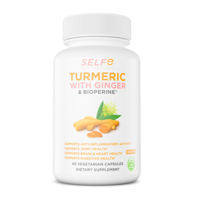 SELFe TURMERIC WITH GINGER 1300MG
