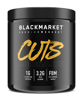 Black Market Labs Adrenolyn Cuts Pre-Workout  FREE SHIPPING!