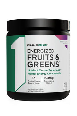 Rule 1 Energized Fruits & Greens 25 sv