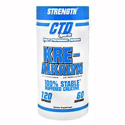 CTD Sports Kre-Alkalyn 120 Capsules