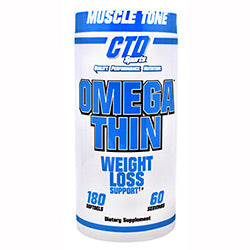 CTD Sports Omega Thin 180 Softgels