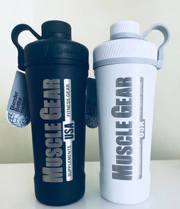 Muscle Gear USA Radian Insulated Stainless Steel Blender Bottle