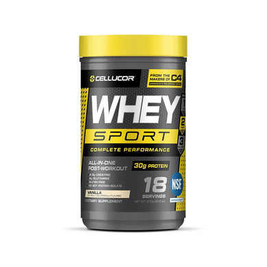 Cellucor Whey Sport Protein Powder 18 Servings