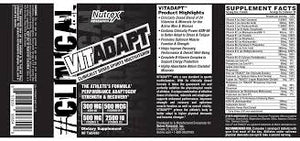 Nutrex VitAdapt Sports Multivitamin, 90 Tablets