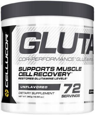 Cellucor Glutamine 72 Servings Unflavored Cor-Performance Series