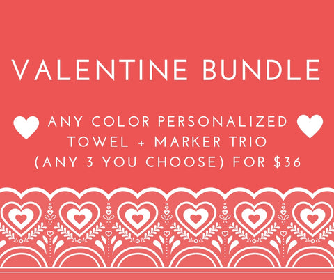 full metal markers valentine bundle