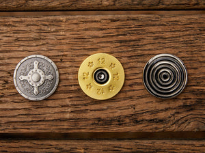 Gentleman's Trio Magnetic Golf Ball Markers Set | Full Metal Markers