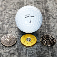 Load image into Gallery viewer, Gentleman's Trio Magnetic Golf Ball Markers Set | Full Metal Markers