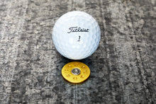 Load image into Gallery viewer, 12 Gauge Shotgun Shell Magnetic Golf Ball Marker | Full Metal Markers