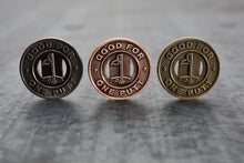 Load image into Gallery viewer, Subway Token Trio Magnetic Golf Ball Markers Set | Full Metal Markers