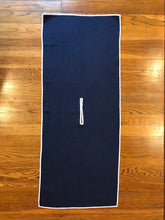 Load image into Gallery viewer, Navy Blue Microfiber Waffle Golf Towel | Full Metal Markers