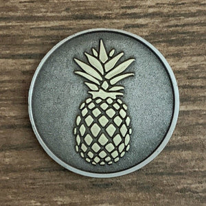 Pineapple Golf Ball Marker