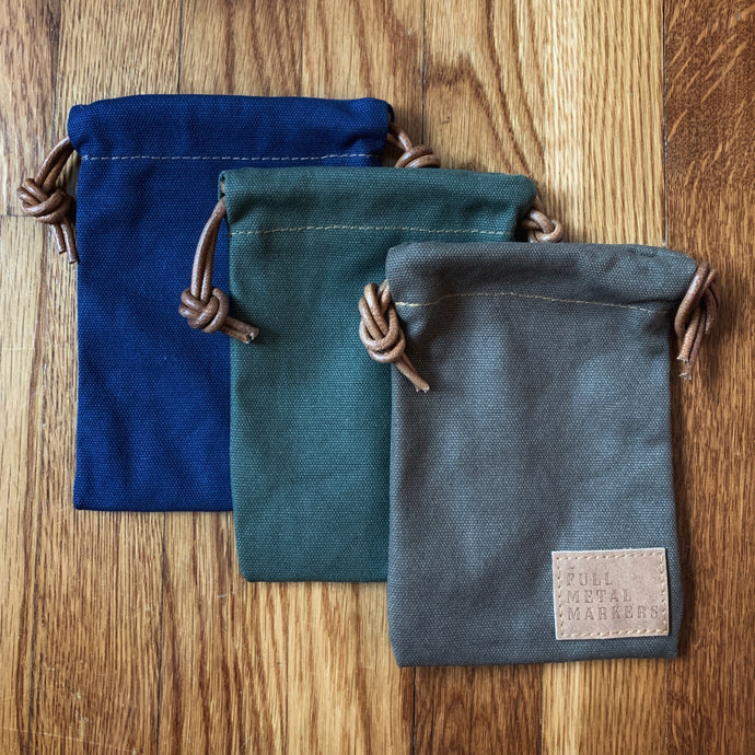 Canvas Valuables Pouch