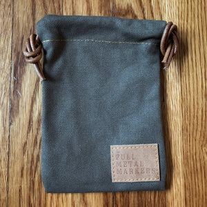 Canvas Valuables Pouch Bundle