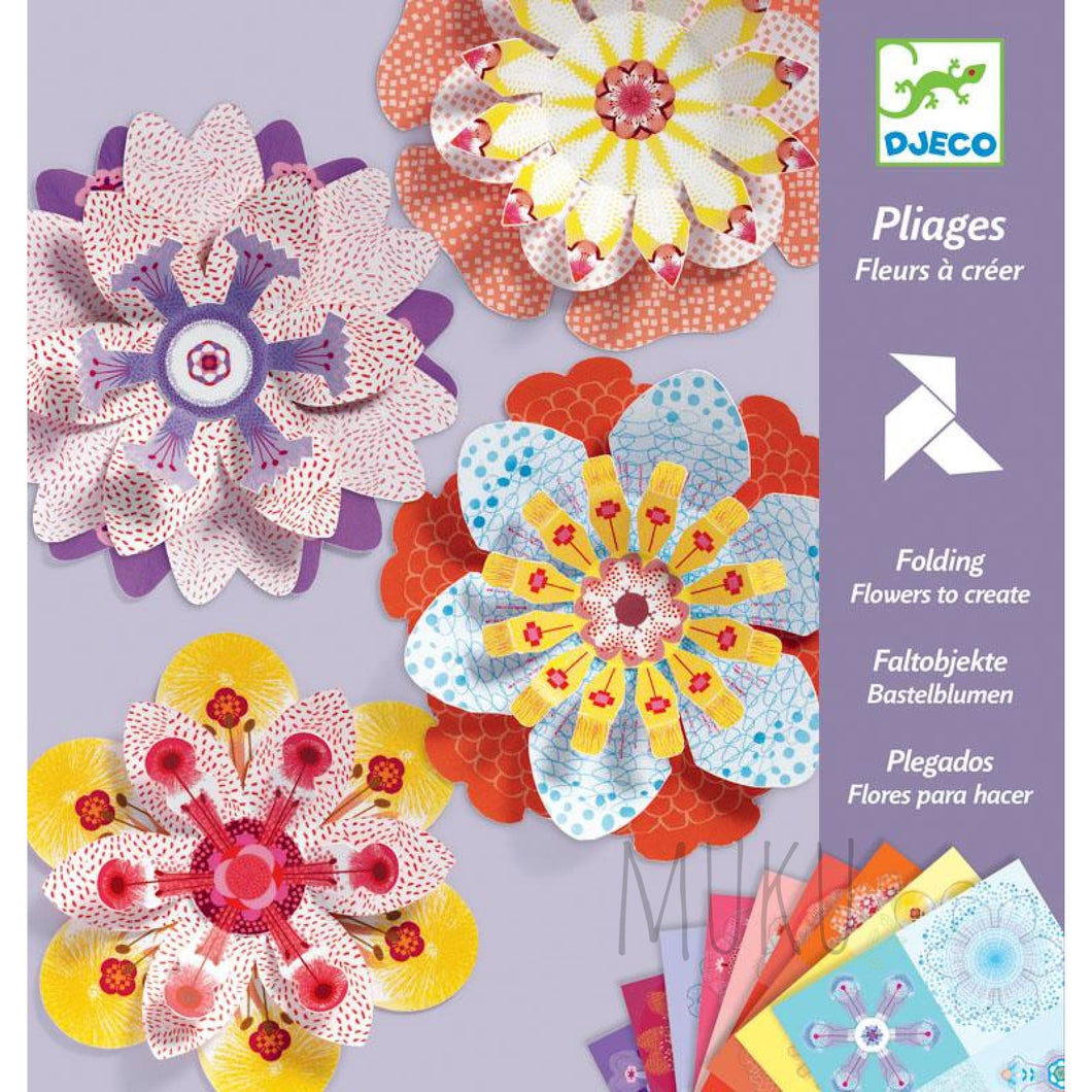 DJECO FLOWERS TO CREATE PAPER CREATIONS - physical