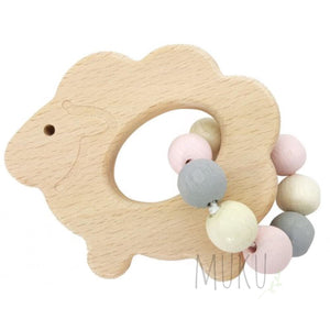 HESS Spielzeug WOODEN RATTLE - wooden toy