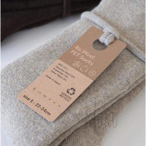KONTEX RECYCLE PET & WOOL SOCKS - physical