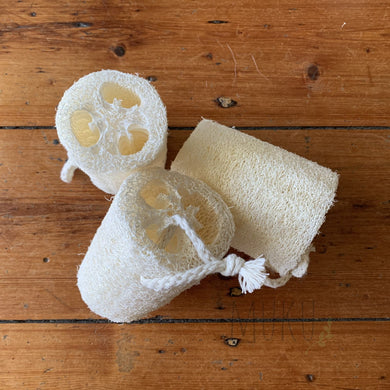MUKU Natural Loofah - physical