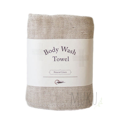 NAWRAP Body Wash Towel - linen - physical