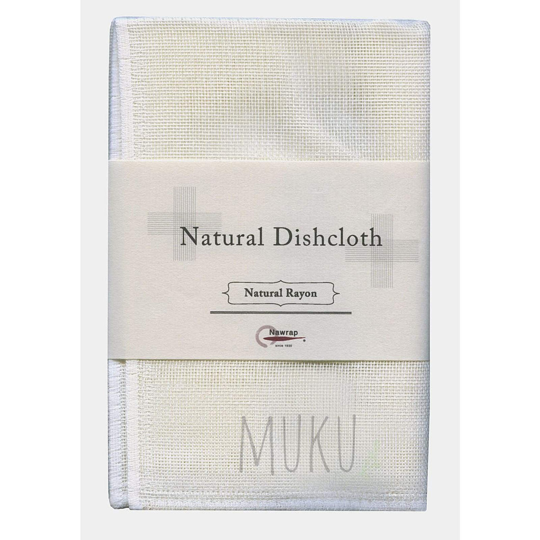 NAWRAP natural dishcloth - rayon white - physical