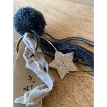 Load image into Gallery viewer, NUMERO 74 POM POM KEYRING - physical