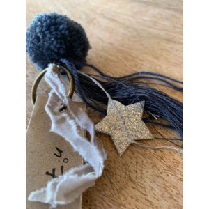 NUMERO 74 POM POM KEYRING - physical