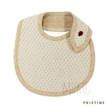 Load image into Gallery viewer, ORGANIC COTTON DOT BIB - JAPAN PRODUCTS